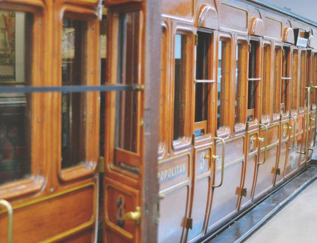 Vintage train carriage
