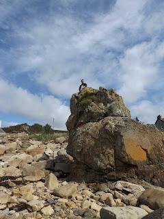 Gabi és a nagy szikla