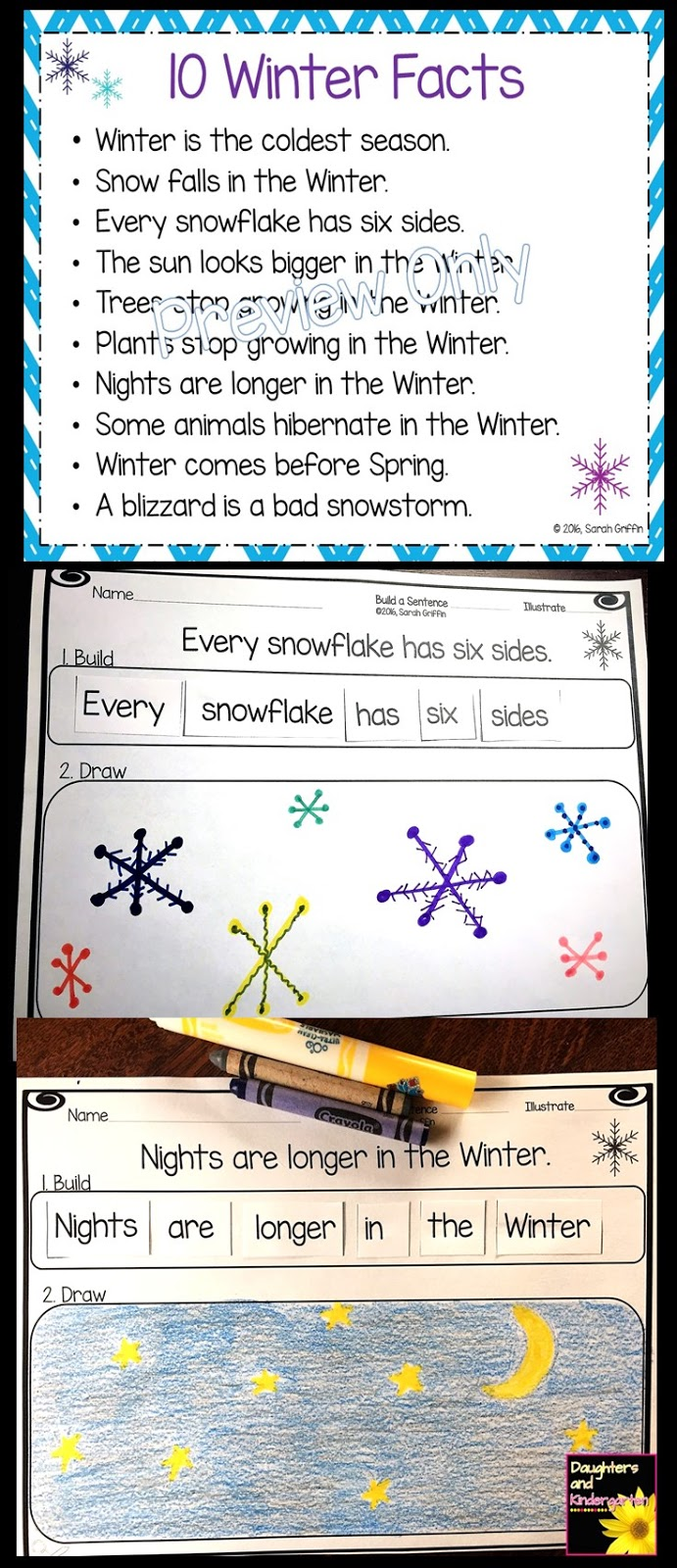Daughters And Kindergarten 10 Winter Facts For Kids