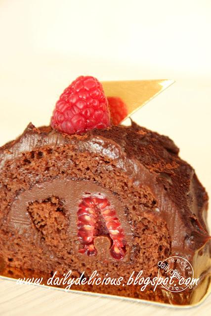 Chocolate Roulade Cake