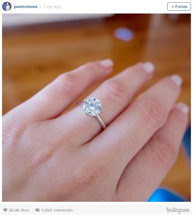 Popular Manila: Pauleen Luna Engagement Ring: Bossing Na