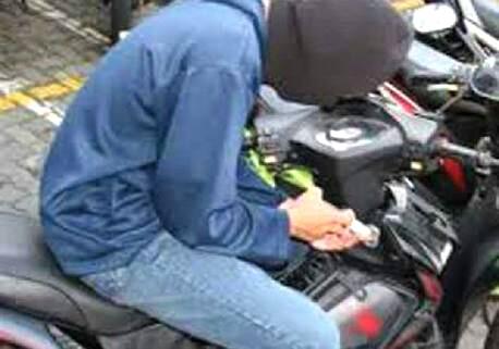 Pencurinya Hebat, Empat Unit Motor UD Satria Perdana Raib Dalam Sekejap