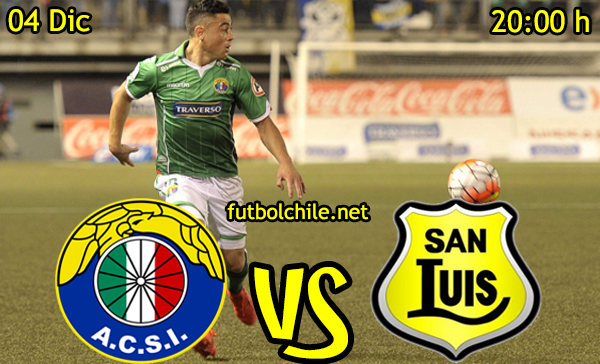 Ver stream hd youtube facebook movil android ios iphone table ipad windows mac linux resultado en vivo, online: Audax Italiano vs San Luis,