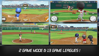 Download Baseball Star MOD v1.1.4 Apk (Unlimited Autoplay Point/Free Training) Terbaru 2016 3