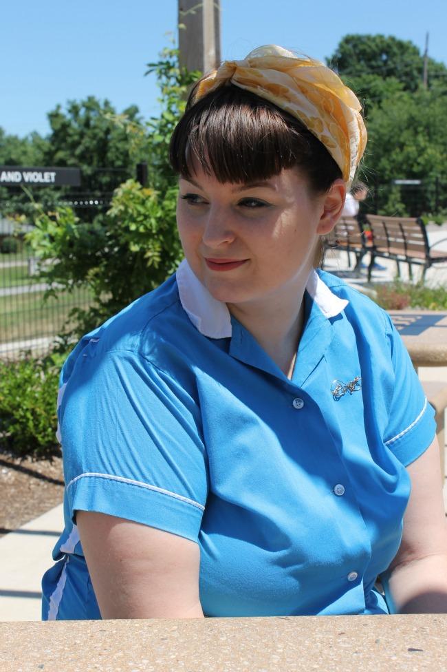 vintage turban headscarf summer vintage hairstyle