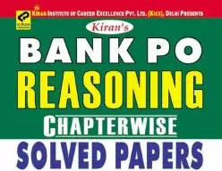 Kiran Bank PO Reasoning Chapterwise (8000+ Questions): Download PDF