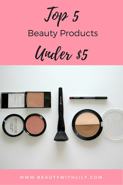 Best 5 beauty products UNDER $5! | beautywithlily.com
