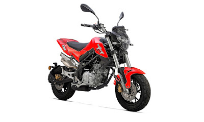 Benelli TNT 135 red color image