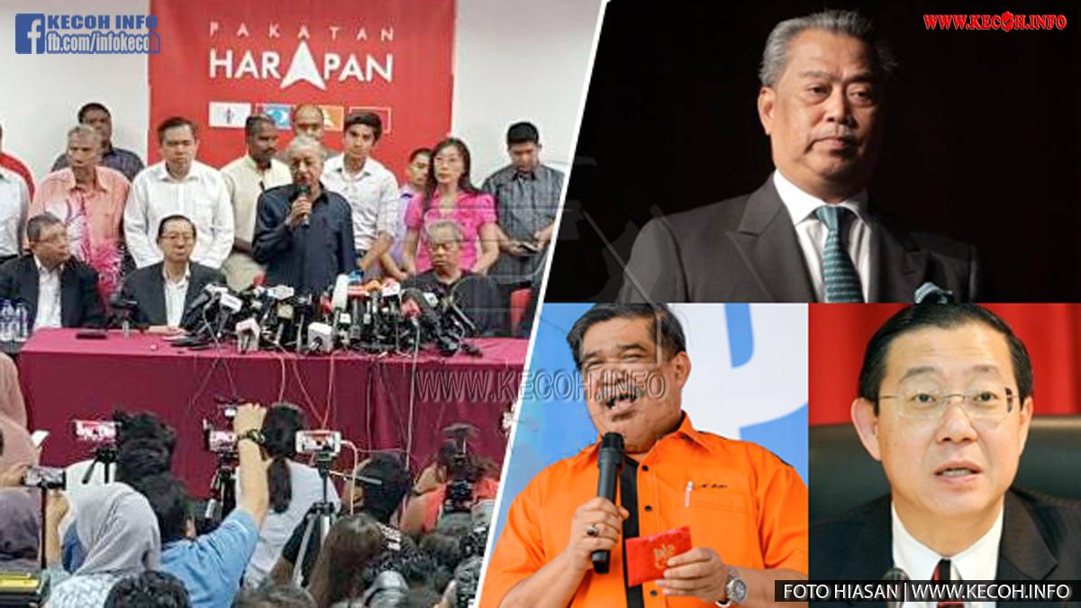 Inilah 3 Senarai Menteri Kabinet Kerajaan Yang Paling Kanan Telah Diumumkan Oleh Tun Dr Mahathir
