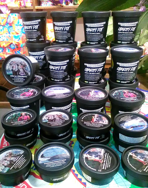 Lush Cosmetics - Charity Pot, charitable and hydrating body lotion, review