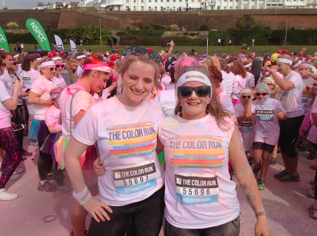 FitBits | Brighton Color Run after party 2015
