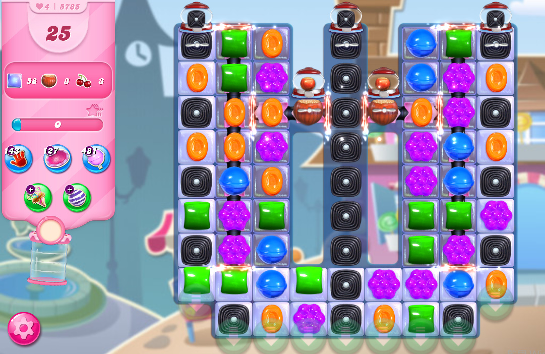 Candy Crush Saga level 5785