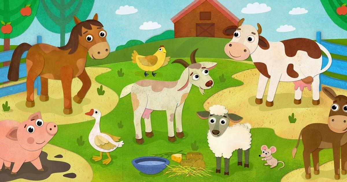 Картинки домашние животные для детей