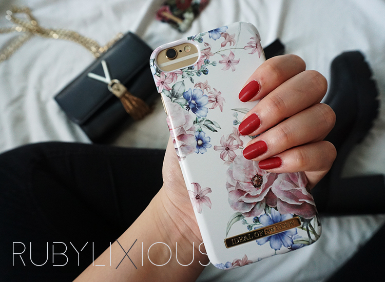 phone case, ideal of sweden, floral romance