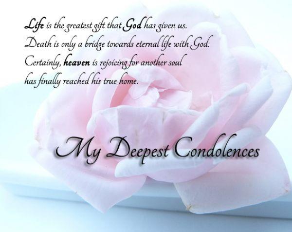 carte de condoleances en anglais 😛