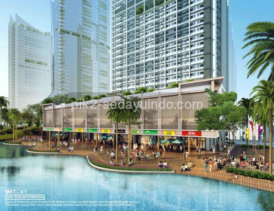 Rukan PIK 2 Tokyo Riverside Jakarta