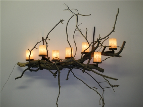Twig Wall Decor wall hanging made out of twigs - home ideas 2016