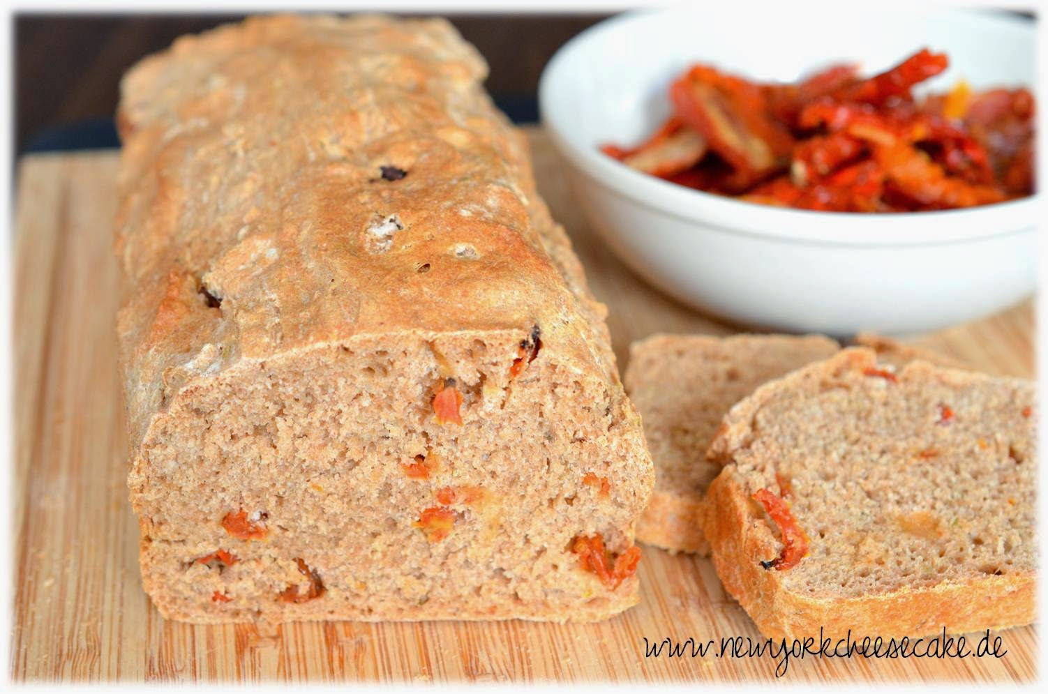 Brot, Brot backen, Tomaten, mediterran