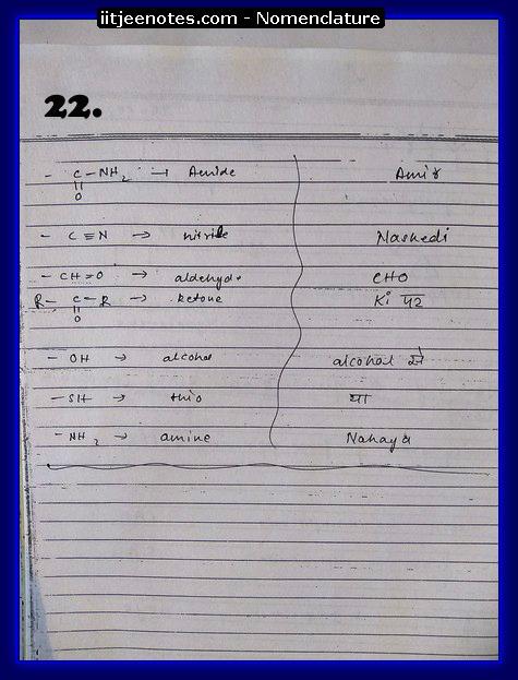 Nomenclature Notes6