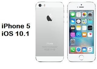 Firmware iPhone 5 iOS 10.1