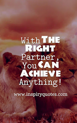 Life Partner Love Quotes For Wife Husband About Life Success
