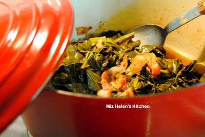 Garden to Table Collards at Miz Helen's Country Cottage