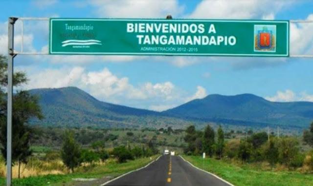 A cidade Tangamandapio