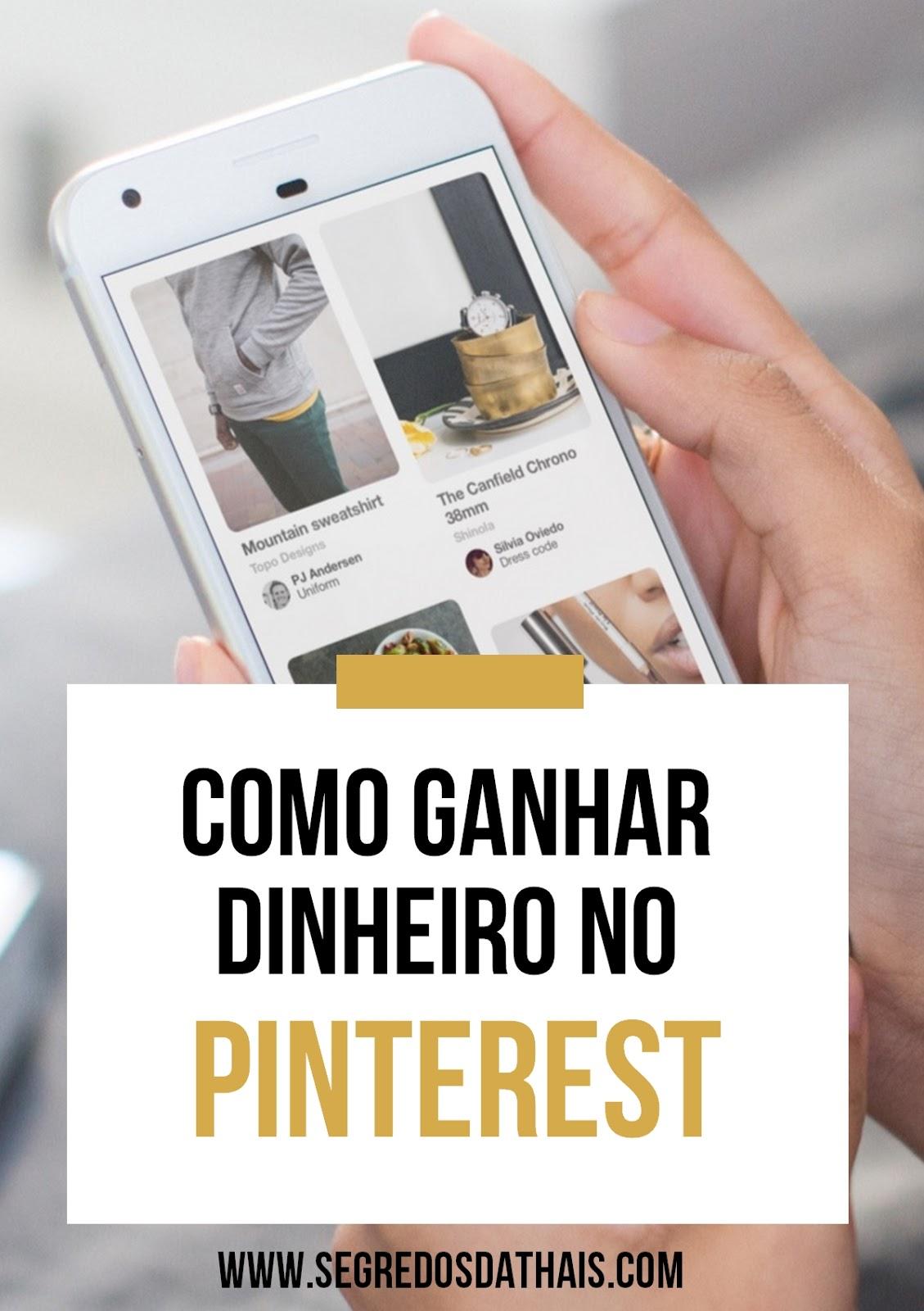 Como ganhar dinheiro com o Pinterest?