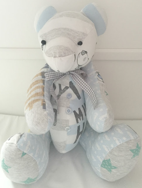 handmade baby clothes bear from forever memory bears