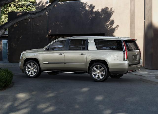 2015 Cadillac Escalade ESV beige