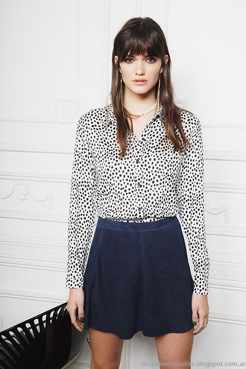 Minifaldas moda invierno 2016 Ayres colección otoño invierno.