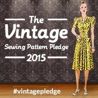 Vintage Pattern Pledge 2015