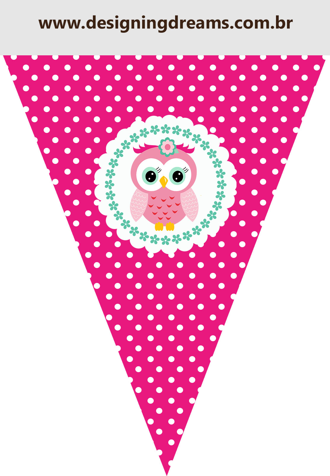 pink owl sweet 16 free printable boxes and free party printable