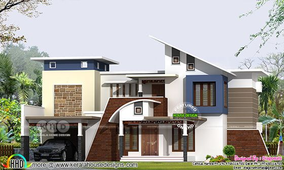 2883 square feet contemporary house architecture
