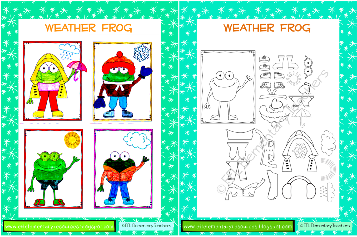 Efl Elementary Teachers More Clothes Theme Resources And