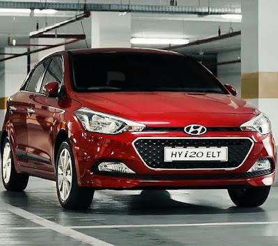 Hyundai Elite i20. Hyundai front look
