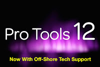 Pro Tools Off-Shore Tech Support