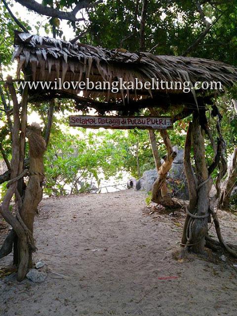 wisata hopping island pulau putri pantai penyusuk belinyu bangka