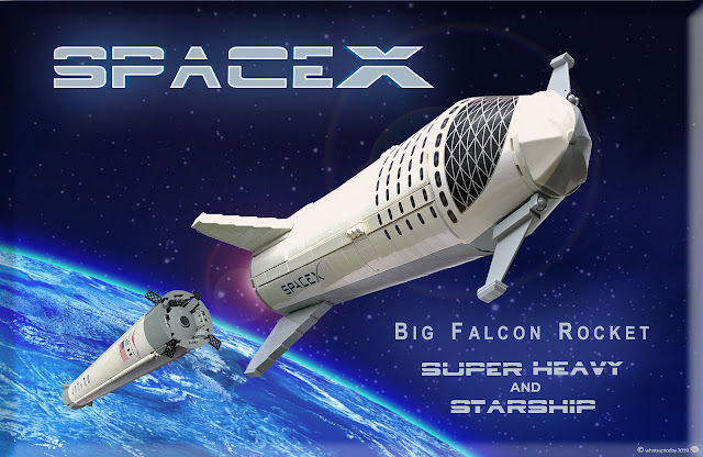 SpaceX Starship & Super Heavy LEGO set - cover