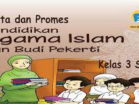 Prota dan Promes PAI dan BP Kelas 3 K13 Revisi 2018