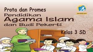 Prota Promes PAI K13 Kelas 3 SD Revisi 2018