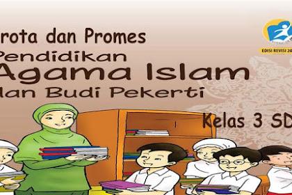 Prota Promes PAI BP Kelas 3 SD K13 Revisi 2018