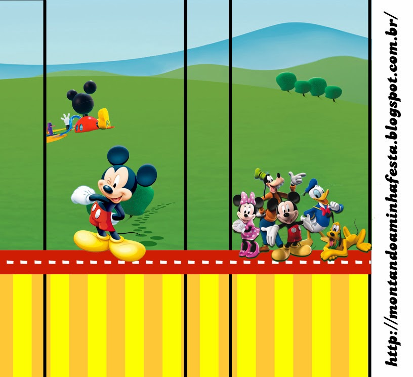 Mickey Clubhouse: Free Printable Candy Bar Labels. | Oh My ...