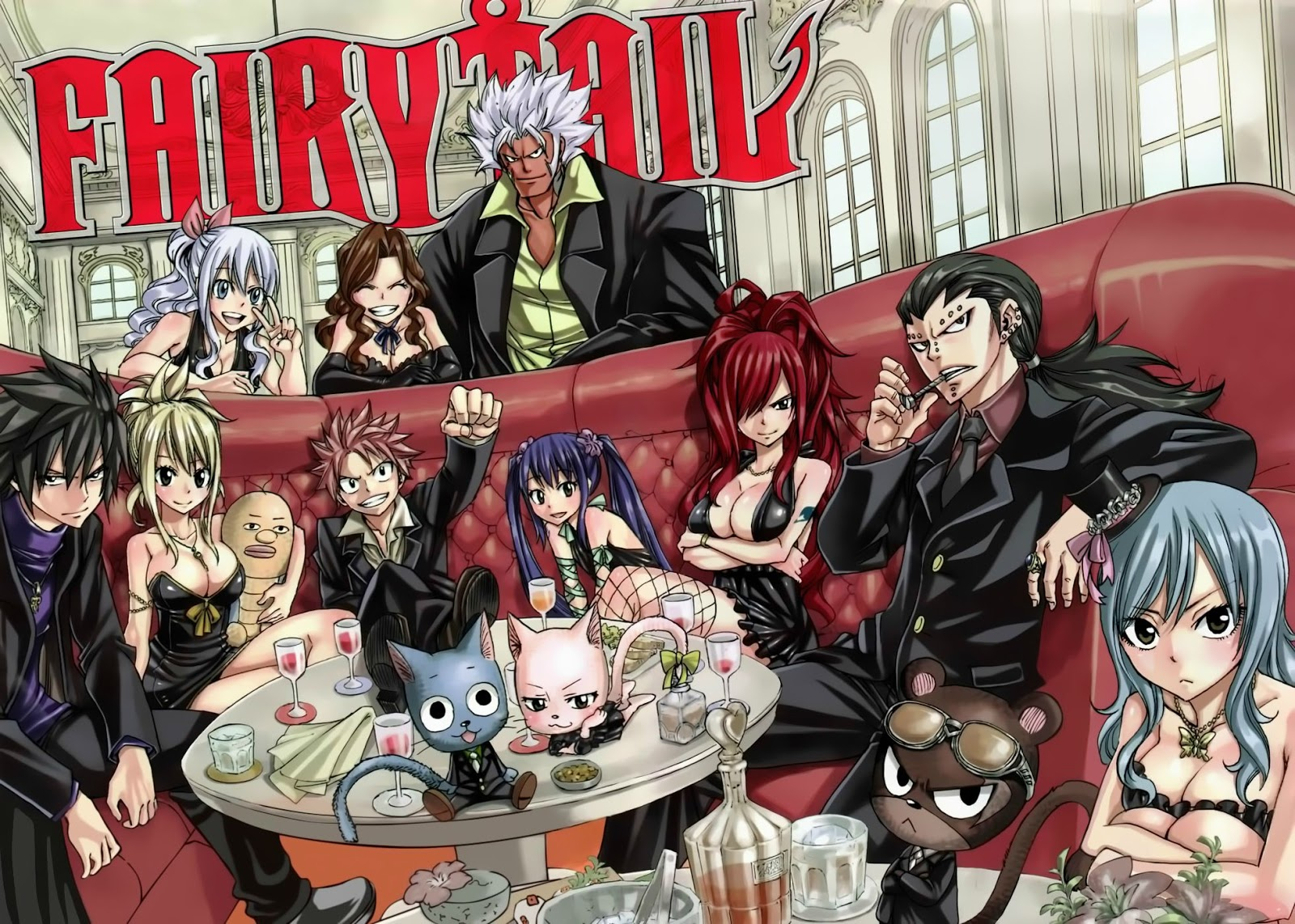 Top 52 Fairy Tail Wallpapers 2017