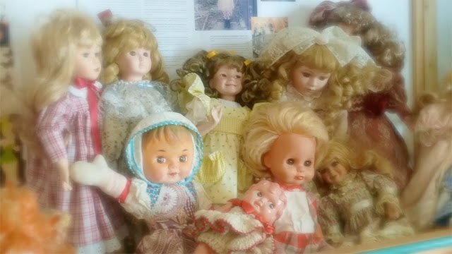 antique and porcelain dolls
