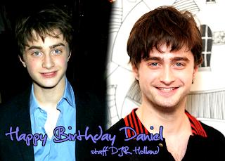 Happy Birthday Daniel Radcliffe! 22!