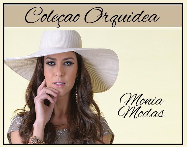 Monia Modas Lança coleção Orquidea 2017