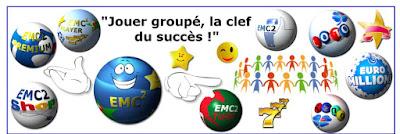 Augmenter vos chances de gagner au loto et euromillion avec le Groupement de joueurs EMC2 piste crypto