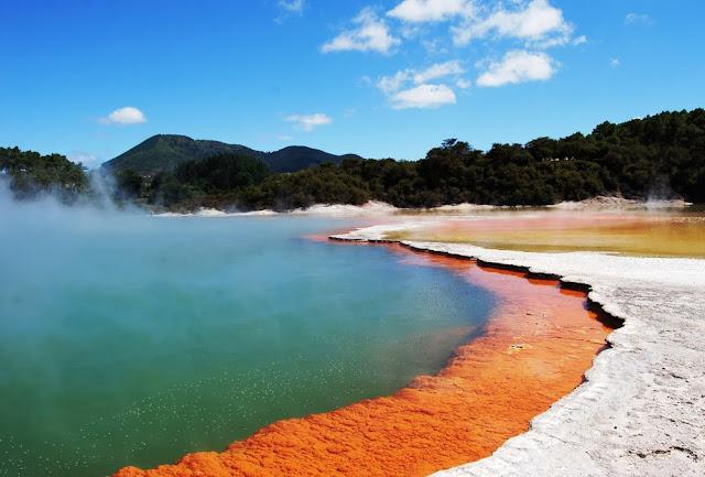 Champagne Pool - Nova Zelândia