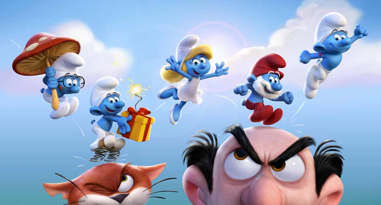"""Assista ao trailer da sequência de animação """"Os Smurfs E A Vila Perdida"""""""